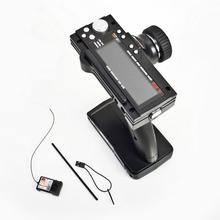 Flysky FS GT3B 2.4G 3CH רדיו דגם שלט רחוק LCD משדר ומקלט לrc רכב סירה