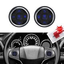 цена на 3S Universal Car steering wheel remote control Controller 10 Key Music Wireless DVD GPS Navigation Radio Remote Control Buttons