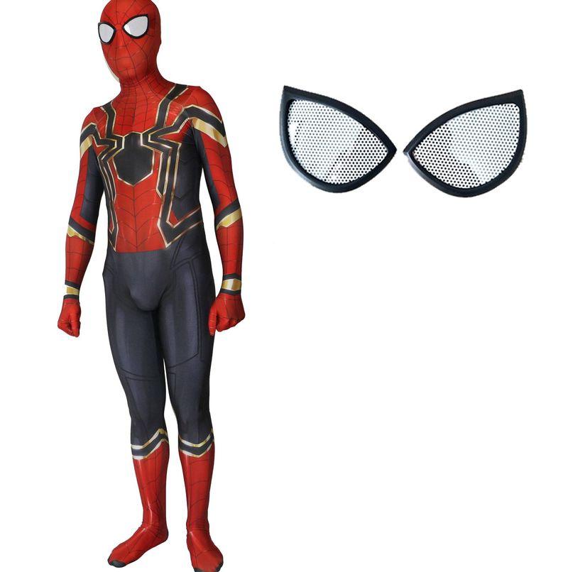 Halloween Costume for Kids Spider Man Amazing Spiderman Iron Spider Costume 3d Adult Suit Cosplay Children Superhero Adult Men