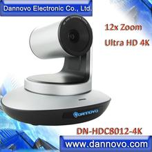 Free Shipping: DANNOVO UHD 2160P 4K PTZ Camera for Distance Learning, 12x Zoom H.265 IP Live Streaming Camera(DN-HDC8012-4K)