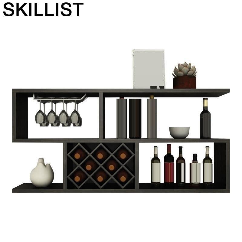 Table Cocina Kitchen Shelves Rack Hotel Armoire Meja Sala Meble Storage Living Room Mueble Commercial Furniture Bar Wine Cabinet