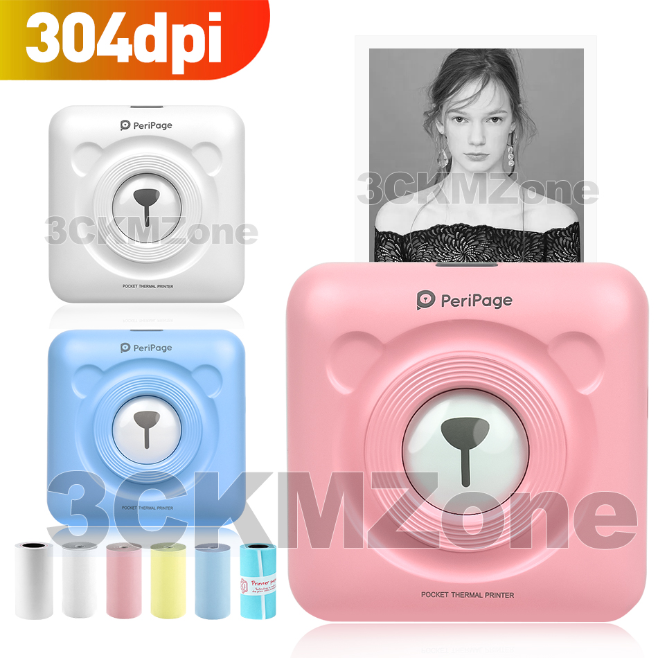 Photo-Printer Bluetooth Handheld Peripage Mini Wireless 58mm 304dpi Updated title=