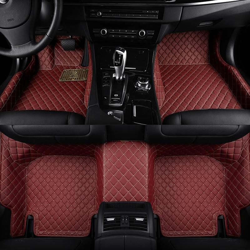 6 Colors Floor Mats for Lexus RC Series Coupe 2015-2018 Waterproof Car Carpet