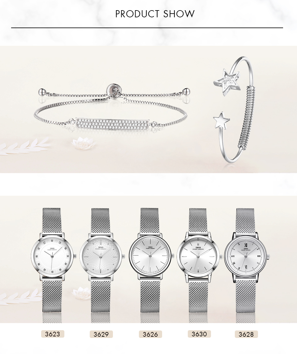 1 (6) Montre-Bracelet bijoux ensemble cadeau pour femmes