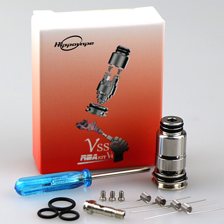 Original Hippo Vape Vss Rba Kit V4 For Ageis Boost Pod Core DIY RBA Coil Set Vape Accessories
