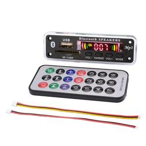 Image 5 - Aiyima Bluetooth MP3 Scheda di Decodifica Wma Wav Flac Ape Decodifica Aux Usb Sd Radio Fm Del Giocatore di Musica per Laltoparlante Bluetooth amplificatore