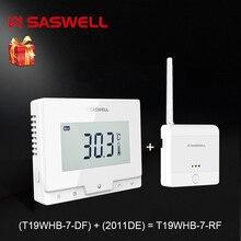 SASWELL Termostato Regolatore di Temperatura per Caldaia A Gas Termoregolatore settimanale programmabile