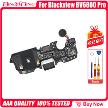 100% Blackview BV6800 pro USB 플러그 충전 보드 플렉스 케이블 충전 모듈 전화 유형 c USB 포트 + 마이크 + 모터 진동기