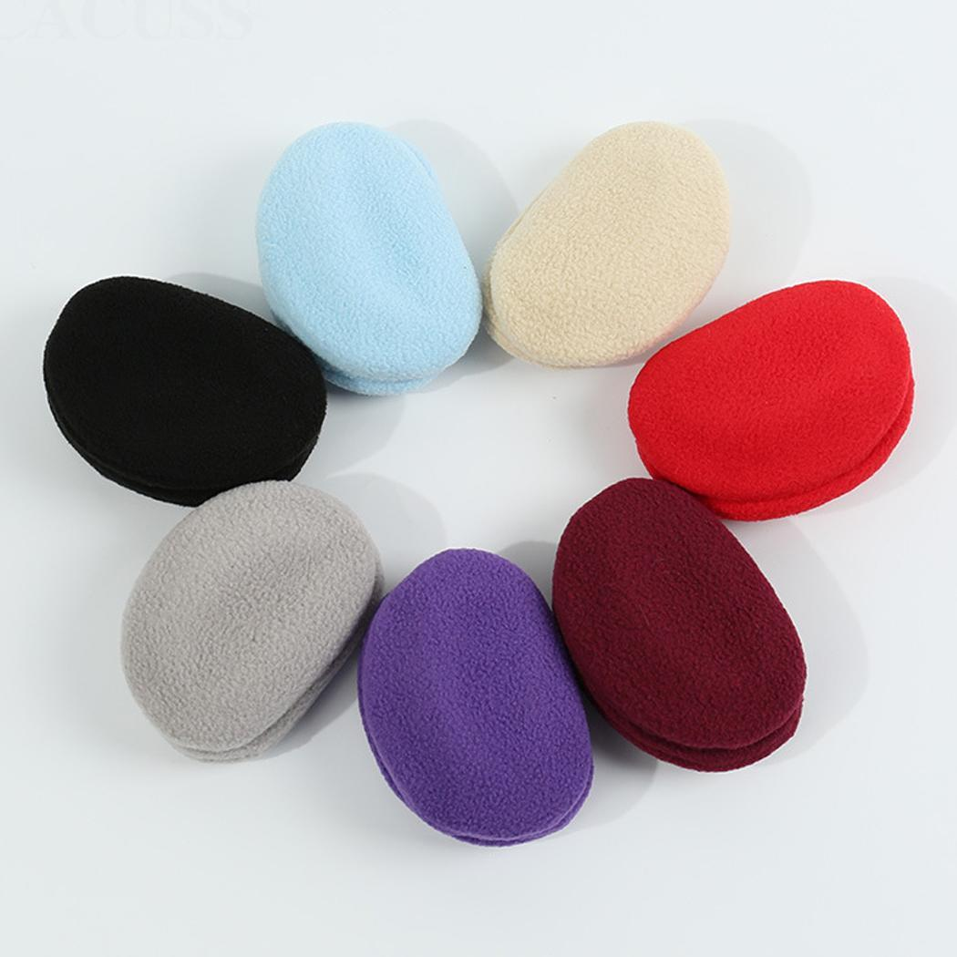 Unisex Fashion Winter Warm Solid Comfortable Ear Casual Warmers