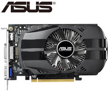 Видеокарта ASUS GTX 750 2 Гб бит GDDR5, видеокарты для nVIDIA geforce VGA карты Geforce GTX750 2G GTX750-FML-2GD5 Hdmi Dvi