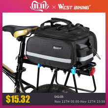 Trunk-Bags Saddle-Rack Luggage-Carrier Bicycle-Bags West Biking Mountain-Bike Waterproof