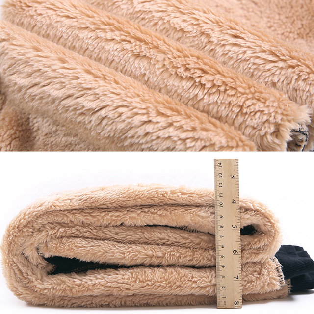 Women Winter Thick Lambskin Cashmere Pants Warm Female Casual Cotton Pants Loose Harlan Long Trousers Plus Size S-5XL 3XL 4XL 4