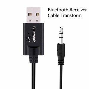 Image 2 - VIKEFON Bluetooth レシーバー Usb オーディオレシーバーの Bluetooth 5.0 ドングル 3.5 ミリメートル AUX ジャックワイヤレス車音楽トランスミッターアダプターケーブル