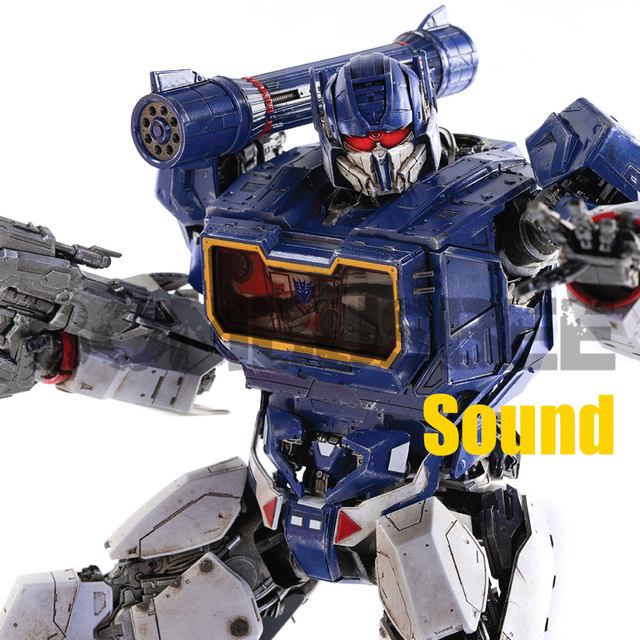 【In Stock】Action Figure Toy Transformation 3A Sound DLX Scale Collectible Figure Robot Model Movie Version Metal Alloy 3Z0160