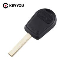 Keyyou 10x remoto fob caso substituição do carro chave do escudo capa keyless fob para bmw 3 botões