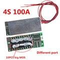 Carte de Protection 4S 12V 100A Lifepo4 Bms 3.2V avec la batterie équilibrée de chargeur de paquets de stockage d'énergie d'inverseur d'ups|Batterie Accessoires| |  -