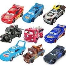 Disney Pixar тачки 3 Молния Маккуин Джексон шторм матер 1:55 литья под давлением модель автомобиля из металлического сплава игрушка Рождественский подарок для мальчиков