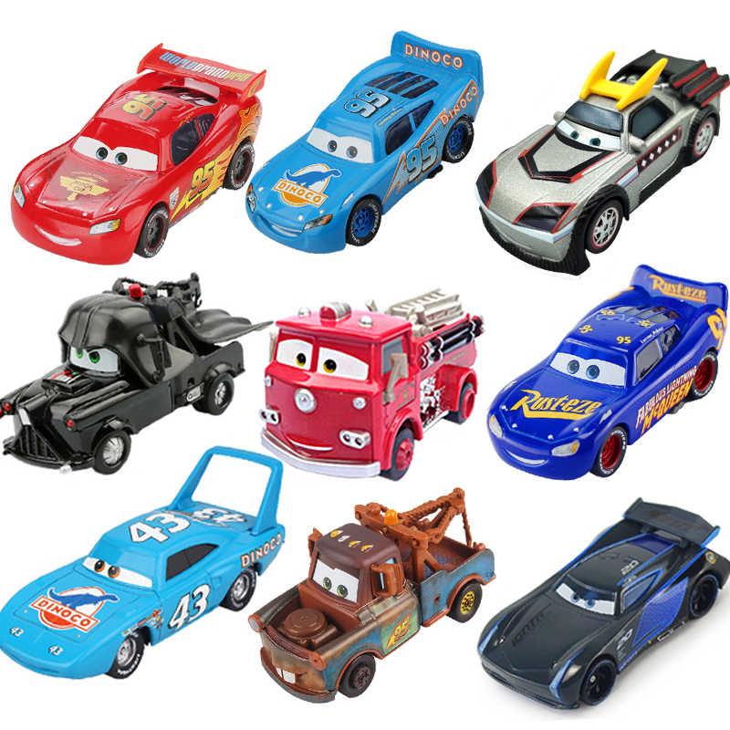 דיסני פיקסאר מכוניות 3 לייטנינג מקווין ג 'קסון סטורם מאטר 1:55 Diecast מתכת סגסוגת דגם רכב צעצוע חג המולד מתנת ילדי בנים