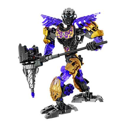 XSZ 611-2 Biochemical Warrior BionicleMask of Light Onua Earth Building Block Compatible with Bionicle Toys 71309 1