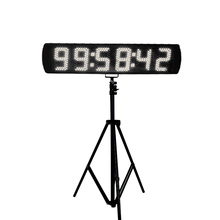 5 LED digital car race timer big horse race electronic countdown timer with large display professional race lap timer applies to track car motorcycle karting car bike