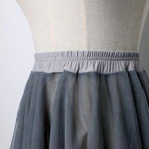 Image 5 - Kadın degrade şifon uzun elbise giyim yetişkin DanceChiffon elbise balerin dans eteği