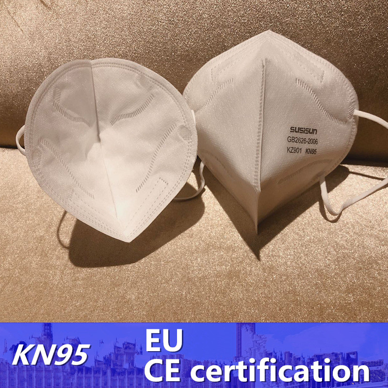 CE Certified KN95 Mask 5-layer Protection EU-FFP2 Level Masks Filtration Efficiency Masks 3D Mask For France Masken