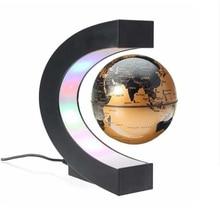 Teaching-Equipment Globe Magnetic-Levitation-Globe Night-Light Gifts Creative School