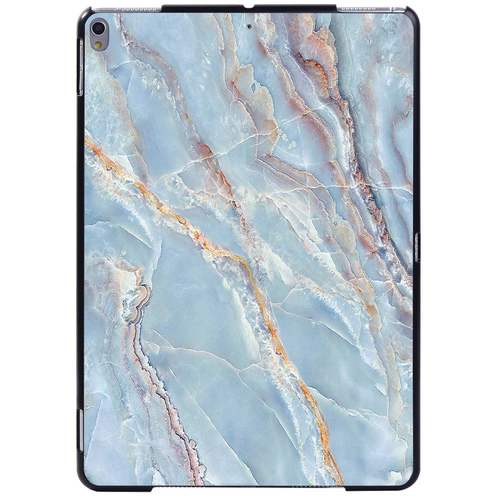 light blue marble Navy Blue For Apple iPad 8 10 2 2020 8th 8 Generation A2428 A2429 Slim Printed Marble tablet
