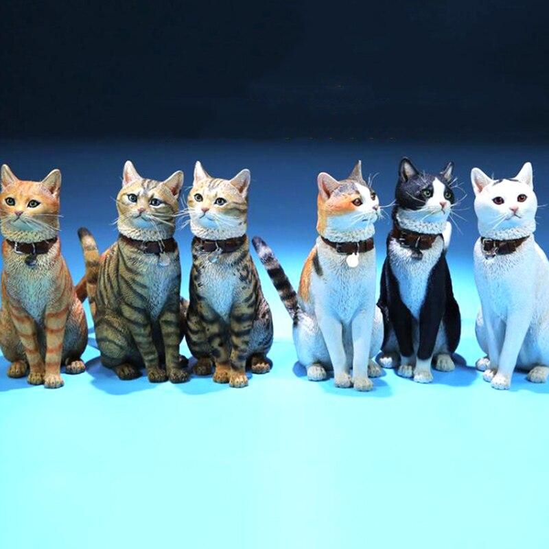Mr.Z 1//6 Scale Animal Resin Figure Ragdoll Puppet Cat Simulation Model 5 Color