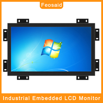 070pww1 0 b01 lcd displays Feosaid 21.5 19 inch industrial Computer LCD monitor 23.6 Numerically controlled displays plate Monitor VGA DVI input for PC