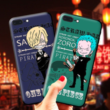 One Piece Luffy Zoro Sanji Patterned for iphone 11 11pro  max Stylish phone case silicon rubber High quality