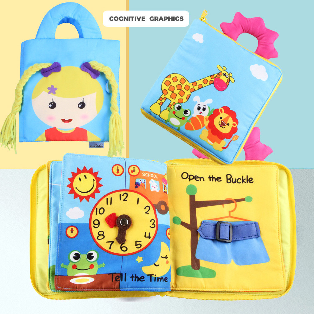 Permalink to Learning Education Toys Cloth Book Toy Playing Animal  Intelligence Training Soft Birthday Gift Cloth Learning Toys Y1219