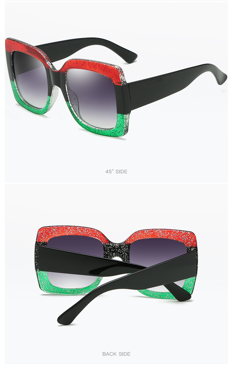 Luxury Brand Designer Square Sunglasses Shades For Women Vintage Women's Sun Glasses Cool Retro 2021 Trends Sunglasses Female gg (9)