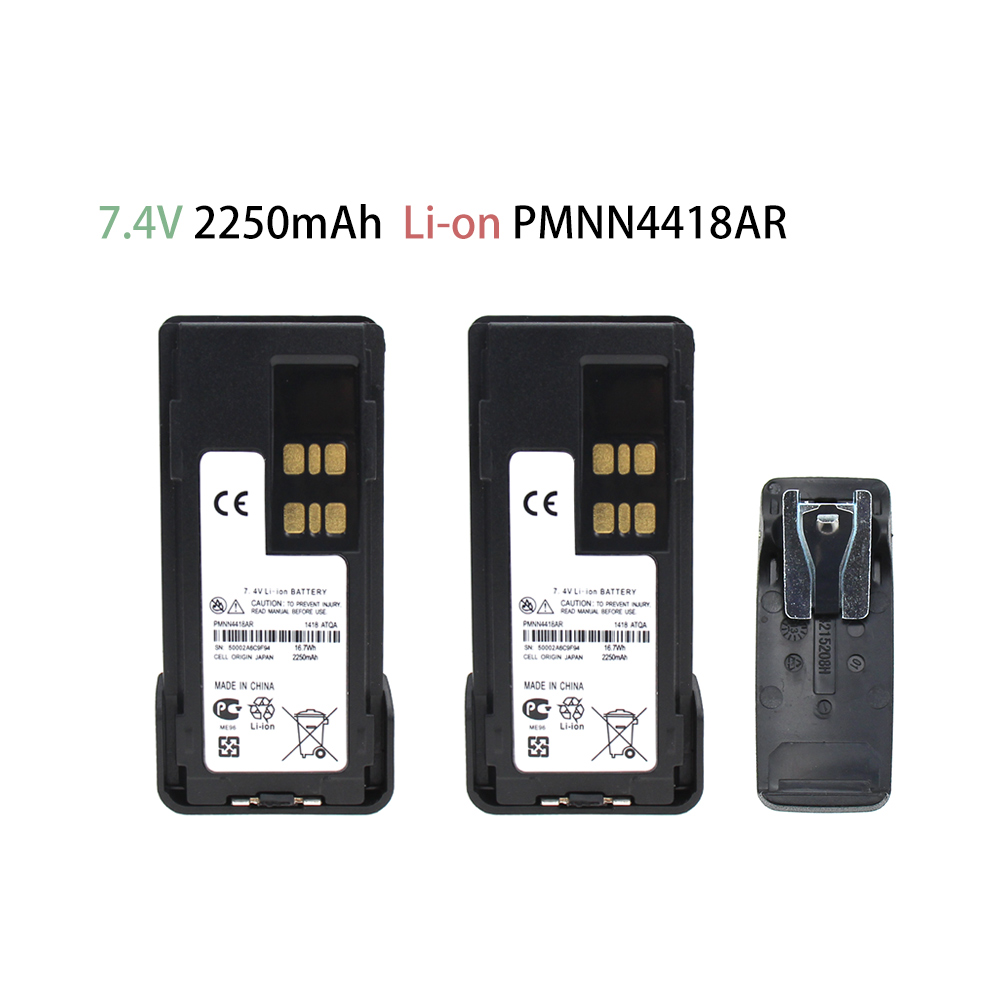 2X Replacement Battery Compatible With Motorola DP2400 DP-2400 DP2600 DP-2600 XIR P6600 PN PMNN441 PMNN4415 PMNN4416