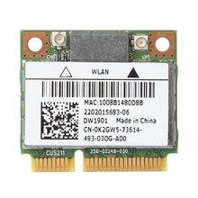 For DELL DW1901 AR5B22 Wireless Dual Band Half Mini PCI-E WiFi Bluetooth4.0 Card