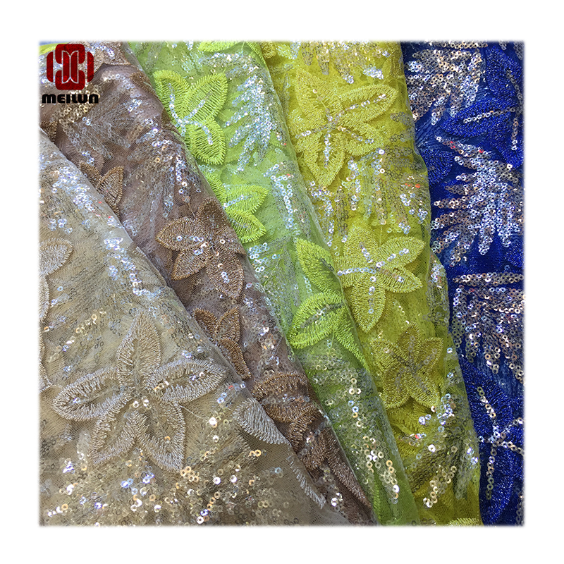 New African Wedding Tulle Floral Lace Fabric For Dress,Diy Lace Curtain Windows Cloth,Apparel Sewing Patchwork Diy Tissus Tecido