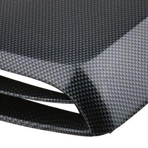 Image 4 - 1 Pcs Universal Car Cappuccio Decor Decorativo Flusso Daria di Aspirazione Scoop Turbo Bonnet Vent Copertura In Plastica ABS 12.8*9.8*2 pollici Car Styling