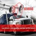 Elektrische Dubbele Hoorn Trompet 12 V/24 V Lage en Hoge Tone Rvs Dual Trompet voor Boot Jacht truck Auto 180dB 400mm + 460mm