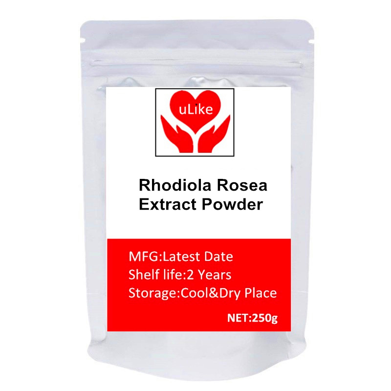 Pure Rhodiola Rosea 3% Rosavins 1% Salidrosides Extract Powder Natural Adaptogen