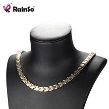 Модное женское ожерелье rainso 2020 в виде лечебной косметики