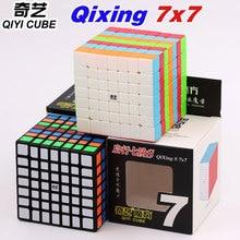 QiYi Cubo mágico 7x7, rompecabezas mágicos, Cubo mágico, QiXing S 7x7x7, Rubriks, cubos de velocidad educativos profesionales, juguetes giratorios, regalos de juego