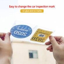 Autocollant ESD de voiture nian jian, autocollant autocollant de pare-choc en papier avec Logo de voiture