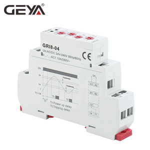 Image 4 - Free Shipping GEYA GRI8 04 Over Current and Under Current Protection Relay 0.05A 1A 2A 5A 8A 16A Current Monitoring Device