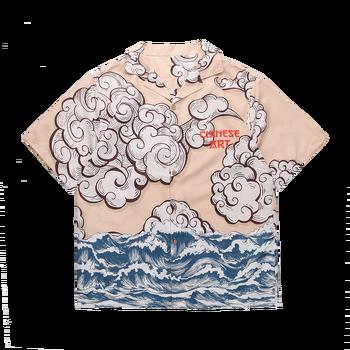 camisa hombre Men shirt Button Shirt Short Sleeve Original Japanese casual Shirts Hawaiian shirt man Summer casual Male top summer men shirt casual short sleeve men s shirts hawaii male coconut tree print beach shirt streetwear holiday camisa hombre
