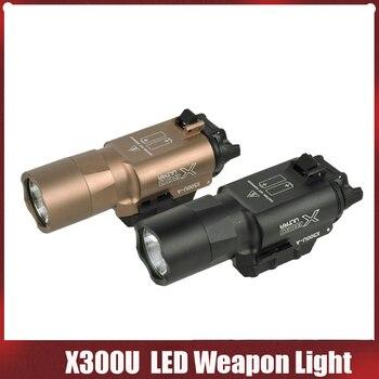 500 Lumens High Output Tactical X300 Ultra Pistol Gun Light X300U Weapon Light Lanterna Flashlight Glock 1911 Pistol Light