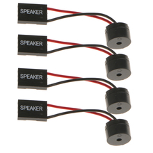 4pcs Desktop Computer Motherboard CPU Internal Speaker Buzzer Beeper