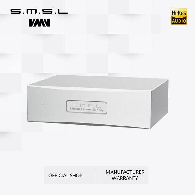 SMSL P2 Linear Power Supply Dual 5V Output Can Use As Audio Power Supply Set for SMSL M8A and SAP-12 Amplifier 5
