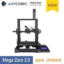 Anycubic 3D Drucker Mega Null 2,0 Impresora DIY Kit Voll Metall Große Druck Größe 3d Drucker Kit Filament SD Karte 3d Drucker