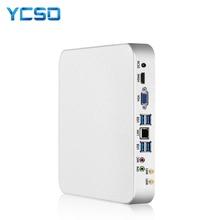 YCSD Mini PC Intel Core i7-4500U Windows 10 8GB RAM 480GB SSD 300Mbps WiFi Gigabit Ethernet 4K UHD HDMI VGA 6 * USB