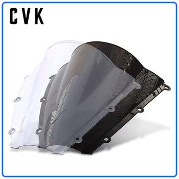 цена на CVK Motorcycle Windshield Spoiler Windscreen Air Wind Deflector For HONDA CBR600RR CBR600 CBR 600 RR F5 2003 2004 03-04 Partts
